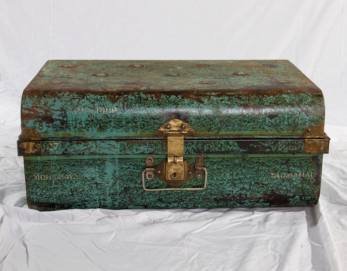 Old Indian Iron Box