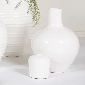 White Ball Pot Long Neck