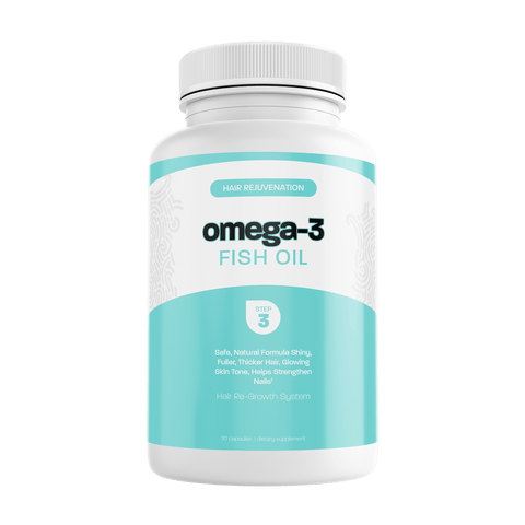 Hair Rejuvenation Omega-3 Fish Oil CBD Hair Wild Things Botanicals