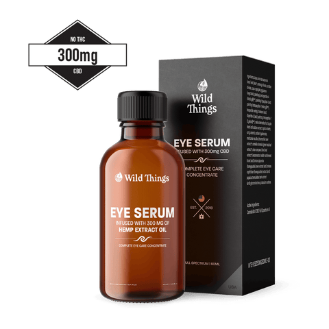 CBD Eye Serum (300mg CBD) CBD Skincare Wild Things Botanicals