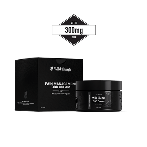 CBD Pain Cream (300mg CBD) CBD Pain Wild Things Botanicals