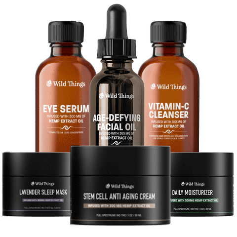 WT 6-Step Skincare Routine Wild Things Botanicals