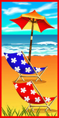 Beach Chairs Towel