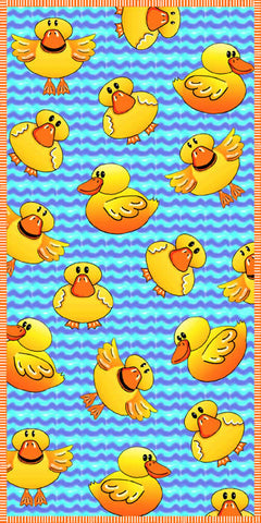 Rubber Ducky Towel