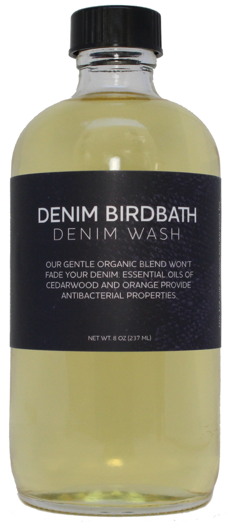 Denim Wash our Organic Liquid Denim solution