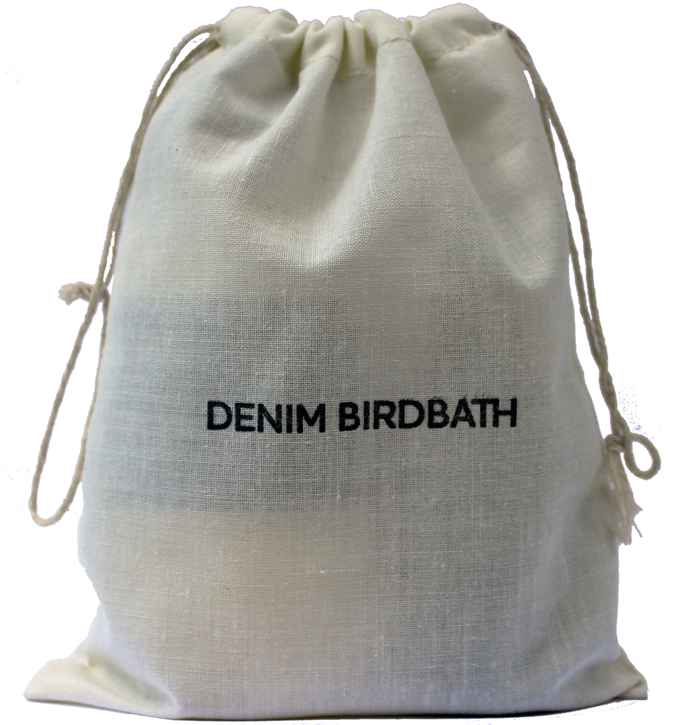 Denim Birdbath Travel Set