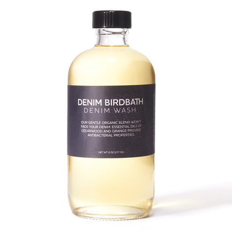Denim Birdbath Organic Denim Wash 8oz