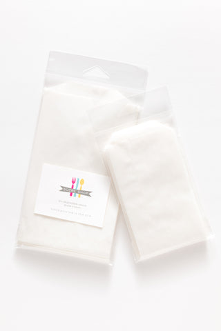 10 glassine bags - 2 sizes