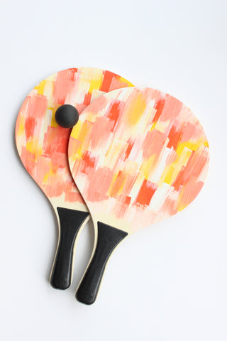 watercolor paddle ball set