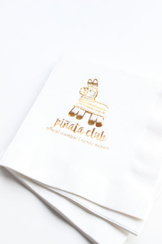 piñata club napkins