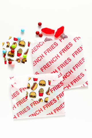 fries bags & stickers