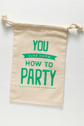 gift bag - party!