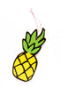 pineapple wall charm