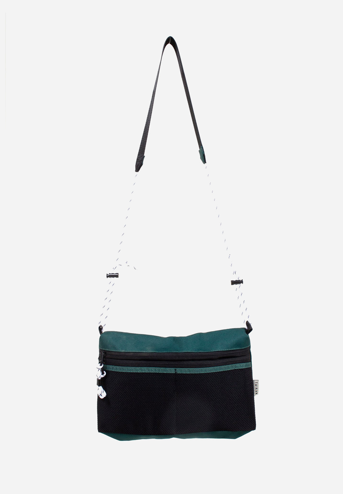 TAIKAN - SACOCHE BAG LARGE, GREEN