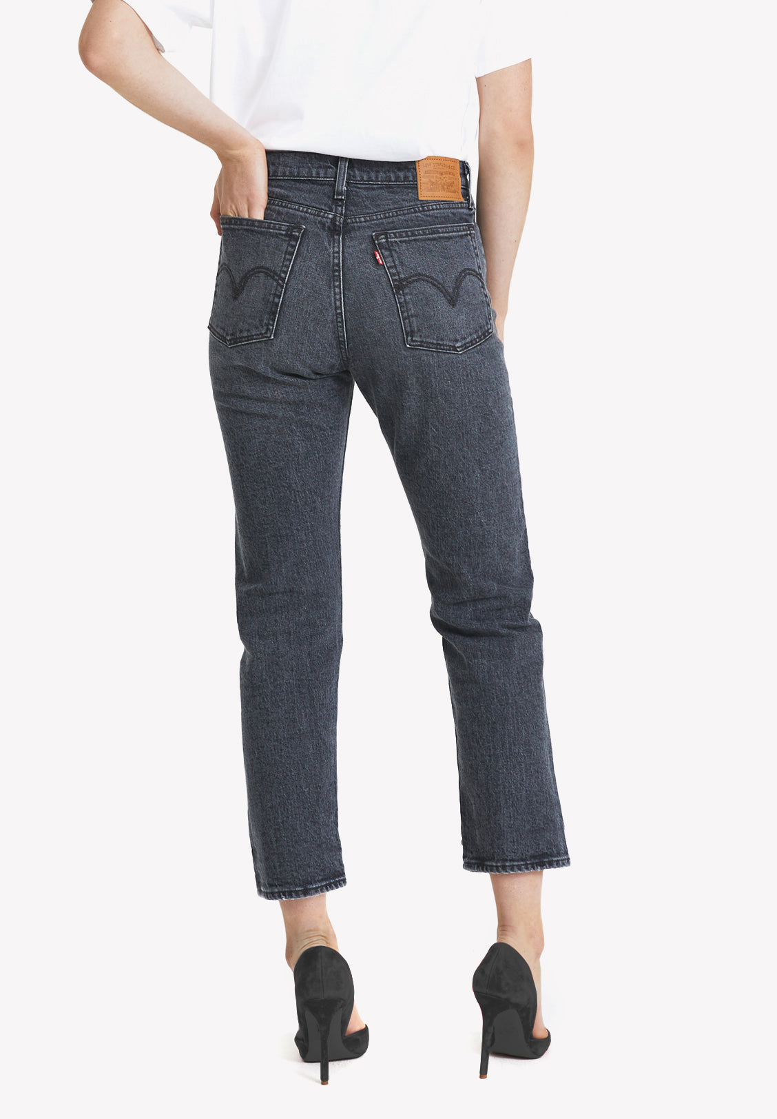 LEVI'S – WOMENS WEDGIE STRAIGHT, BREAK A LEG