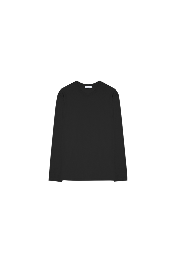 MEN'S HEMP JERSEY LS, BLACK