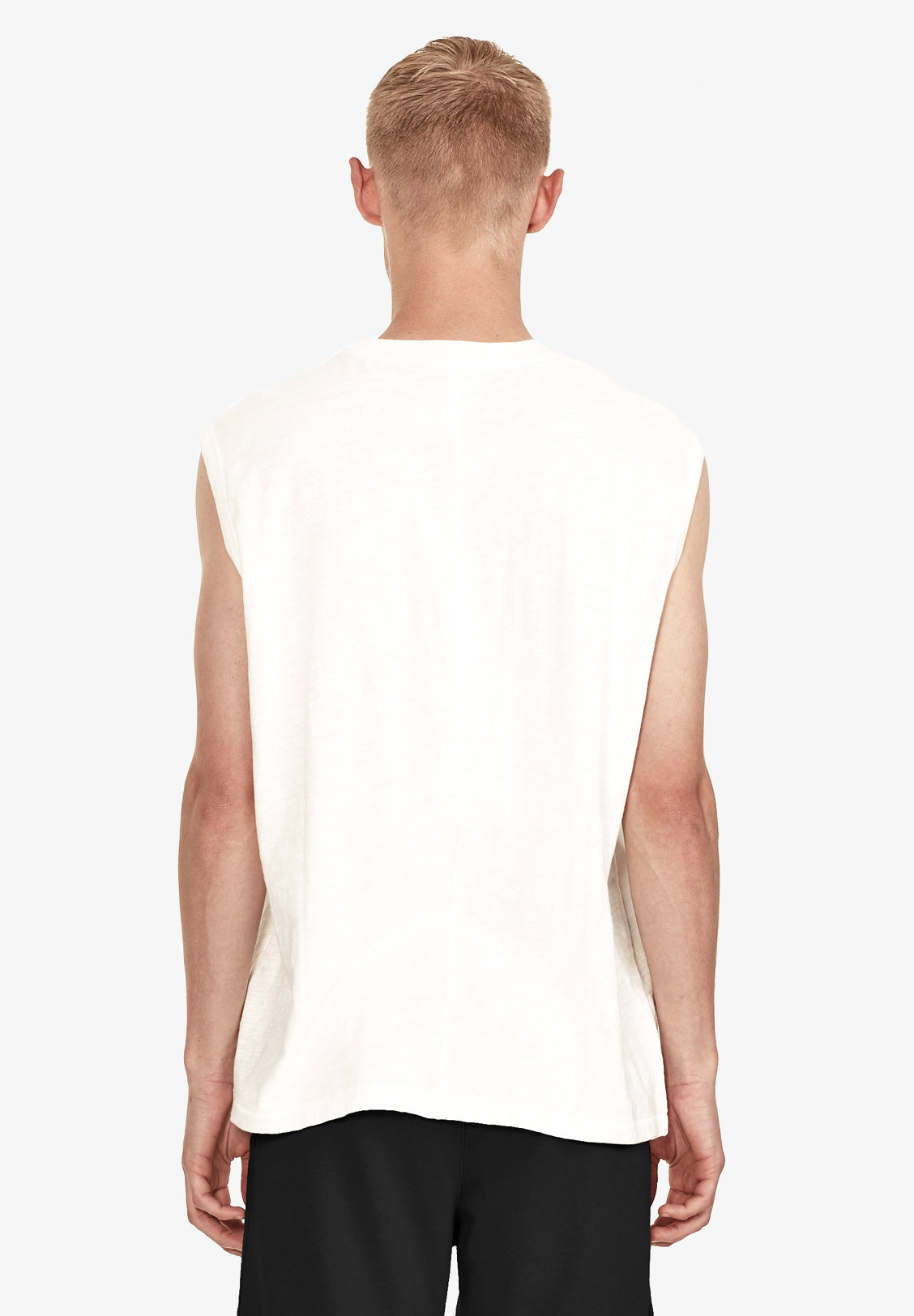 MEN'S RELAXED TANK, VINTAGE WHITE