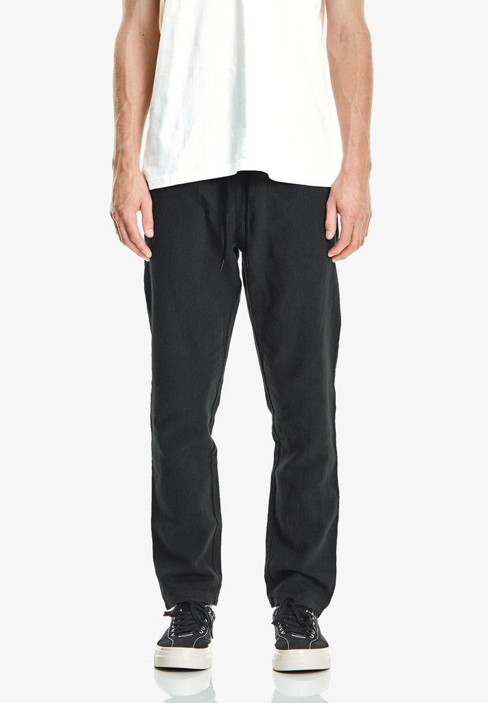 MEN'S LEISURE PANT, BLACK