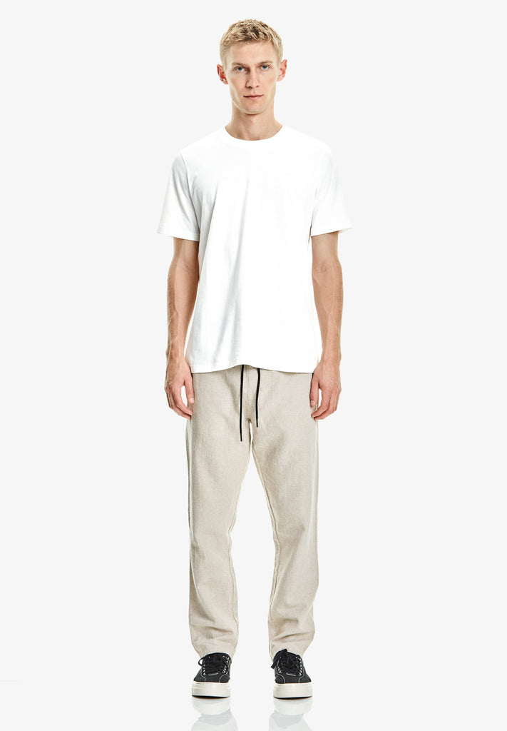 MEN'S LEISURE PANT, NATURAL