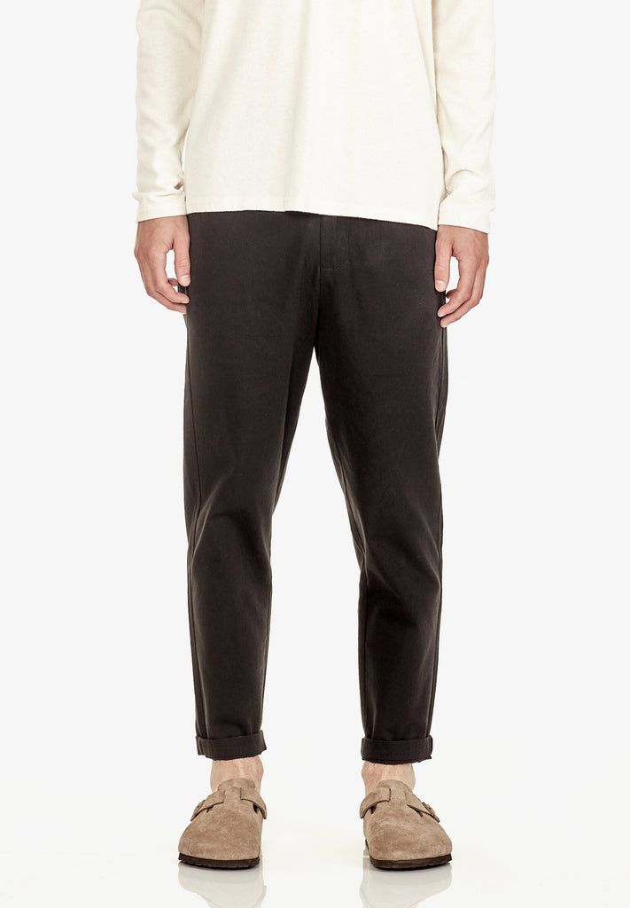 MEN'S RELAXED FIT PANT, BLACK