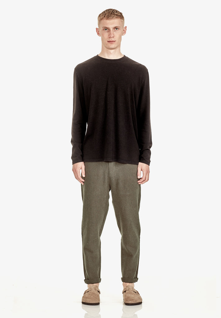 MEN'S RELAXED FIT PANT, KHAKI