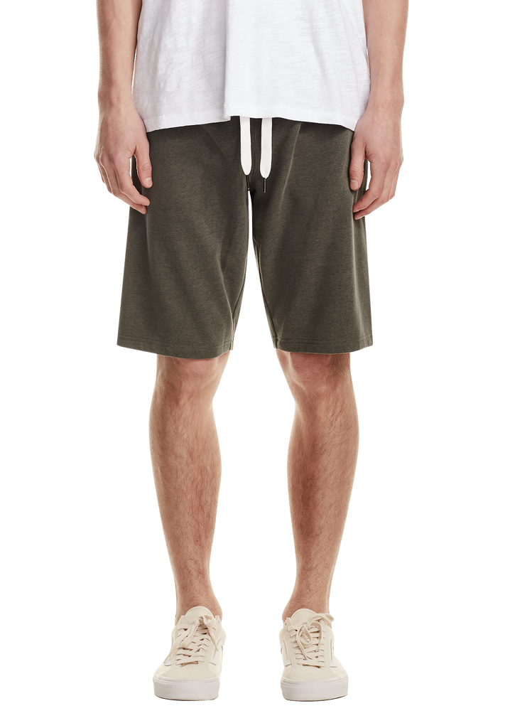 MENS LEISURE SHORT, KHAKI
