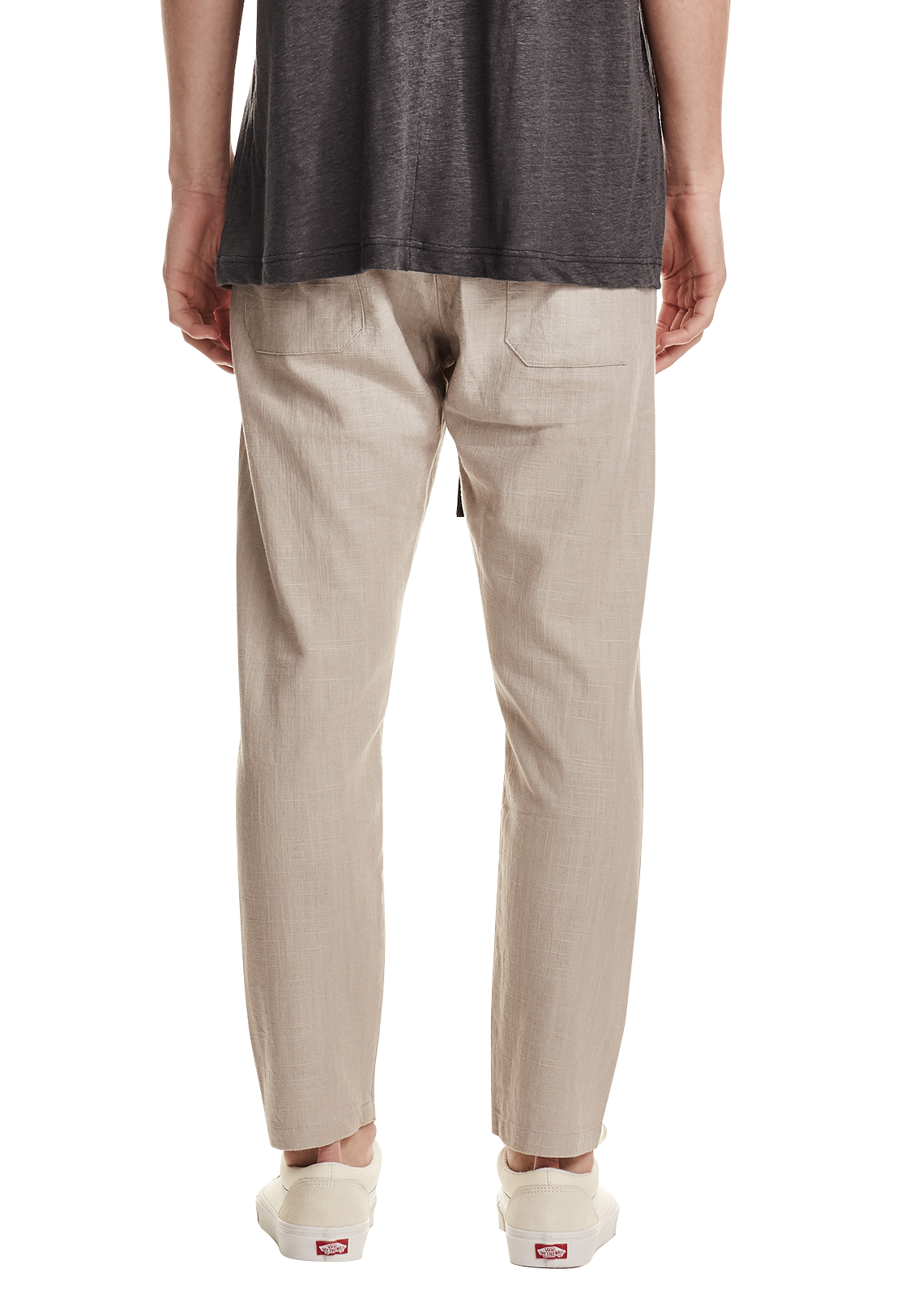 MEN'S RELAXED LINEN PANT, NATURAL