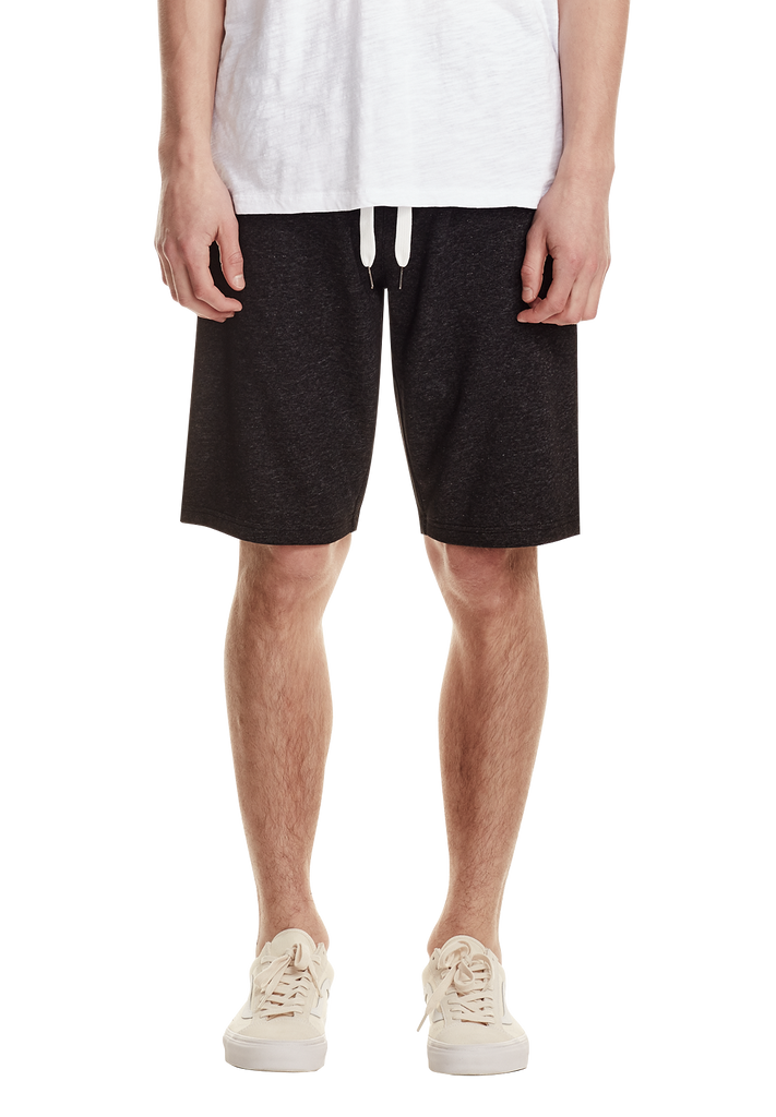 MENS LEISURE SHORT, BLACK