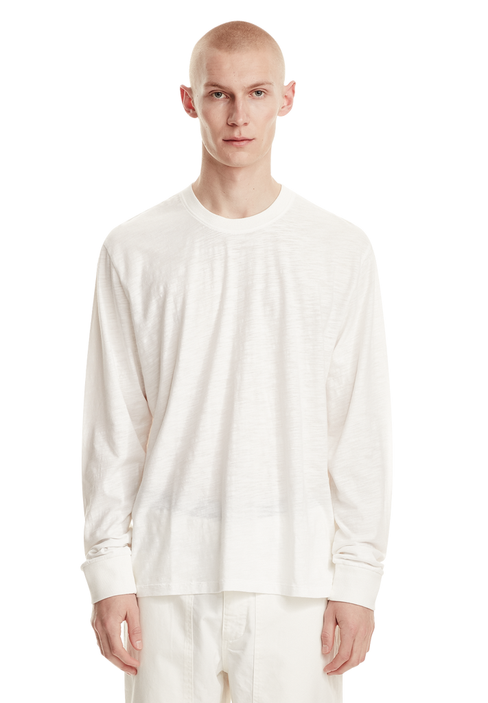 RELAXED LS TEE, VINTAGE IVORY