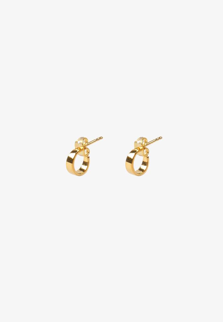 FLASH - BABY STUDS, 14K GOLD VERMEIL