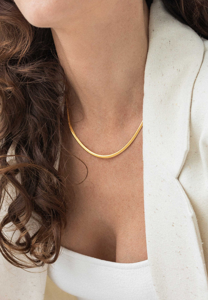 FLASH - VERO CHAIN, 18K GOLD VERMEIL