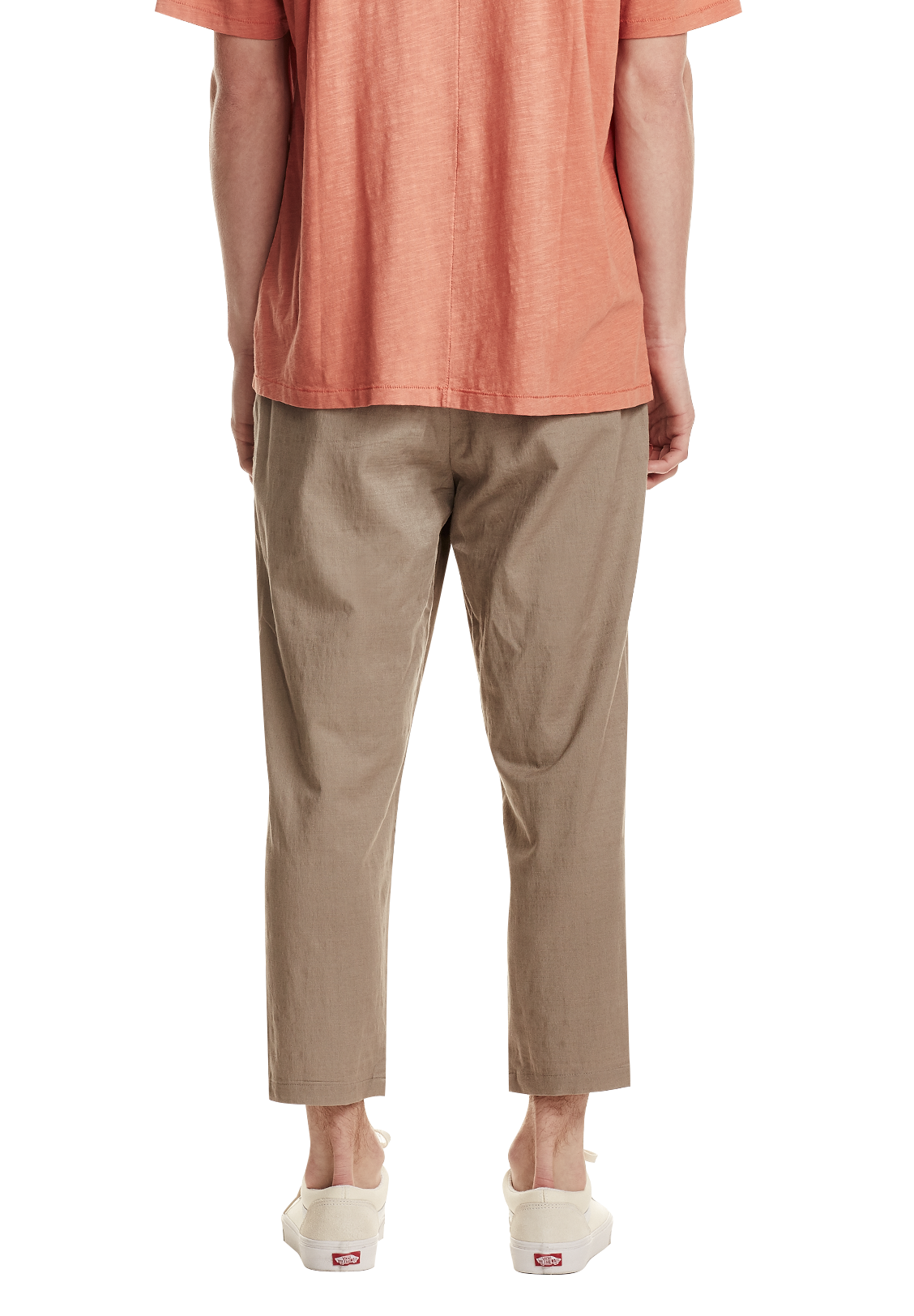 MEN'S CROP TROUSER, SAND