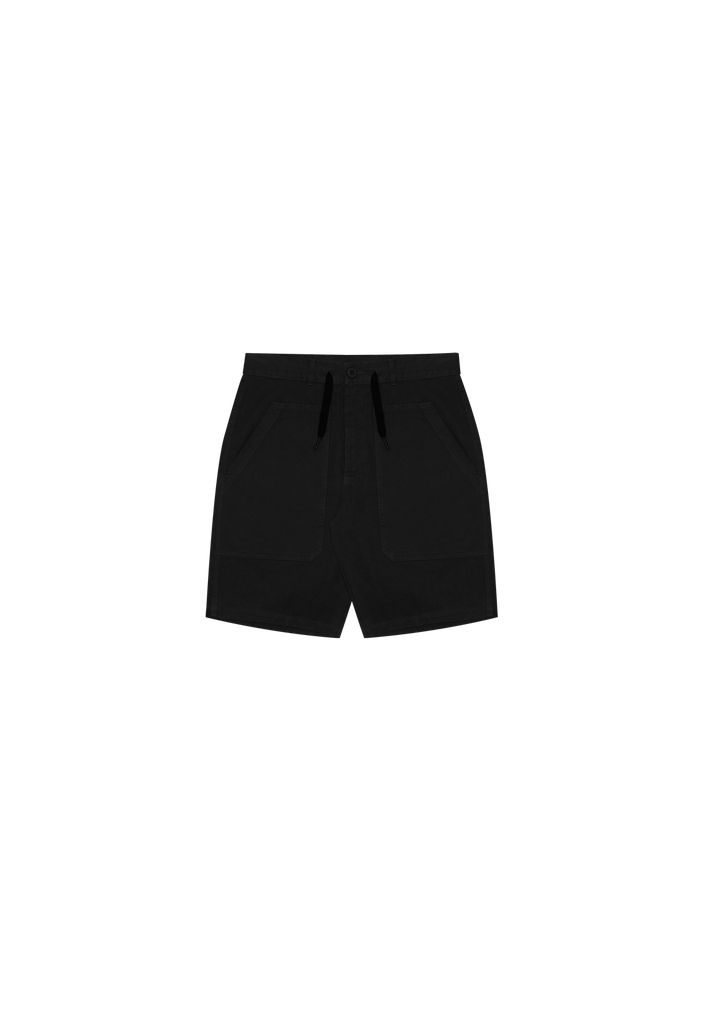 MENS UTILITY SHORT, BLACK