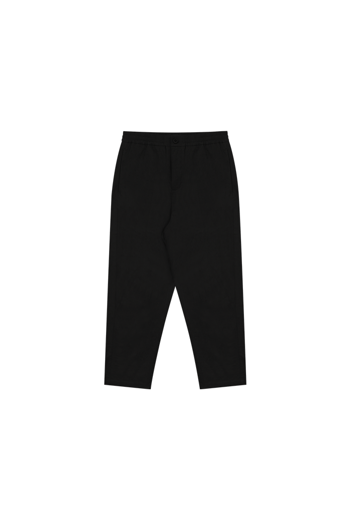 MEN'S CROP TROUSER, BLACK