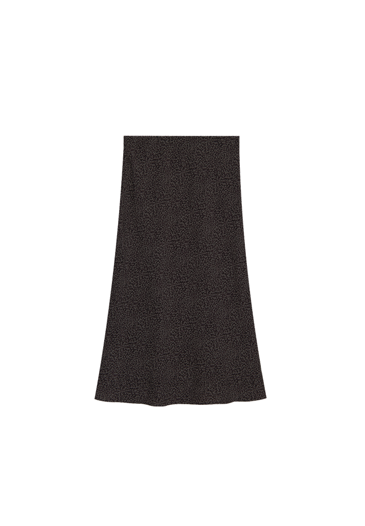 WOMENS SLIP SKIRT, CHARCOAL
