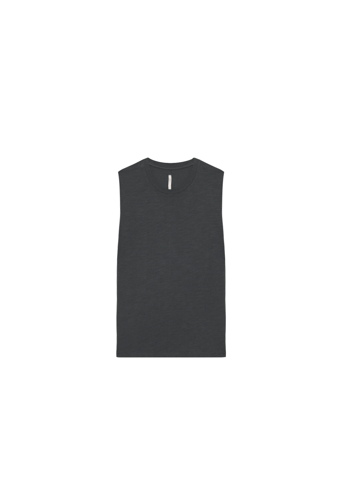 MENS RELAXED TANK, VINTAGE BLACK