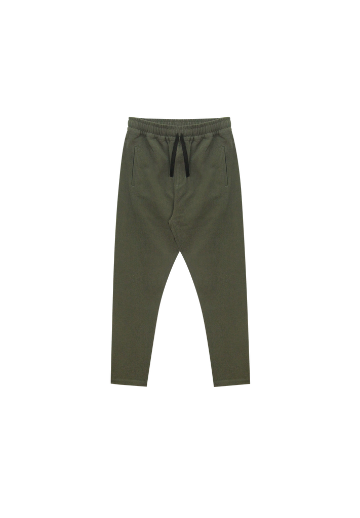 MEN'S RELAXED LINEN PANT, KHAKI