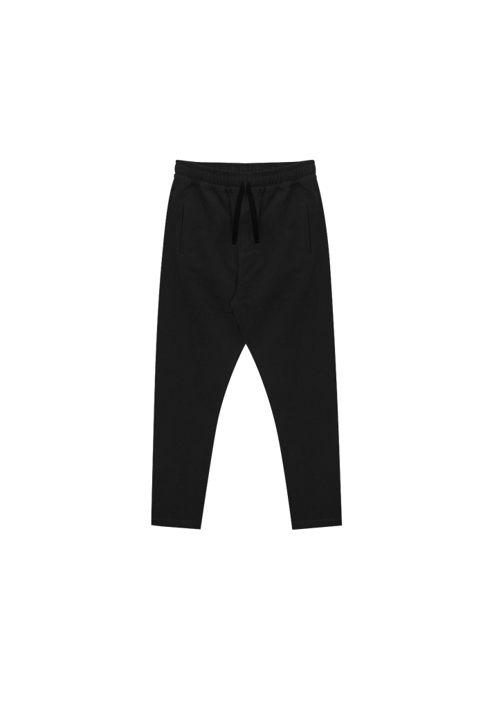 MEN'S RELAXED LINEN PANT, BLACK