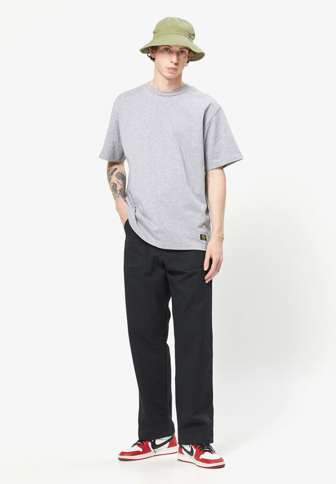 STAN RAY – FOUR POCKET FATIGUE PANT, BLACK TWILL