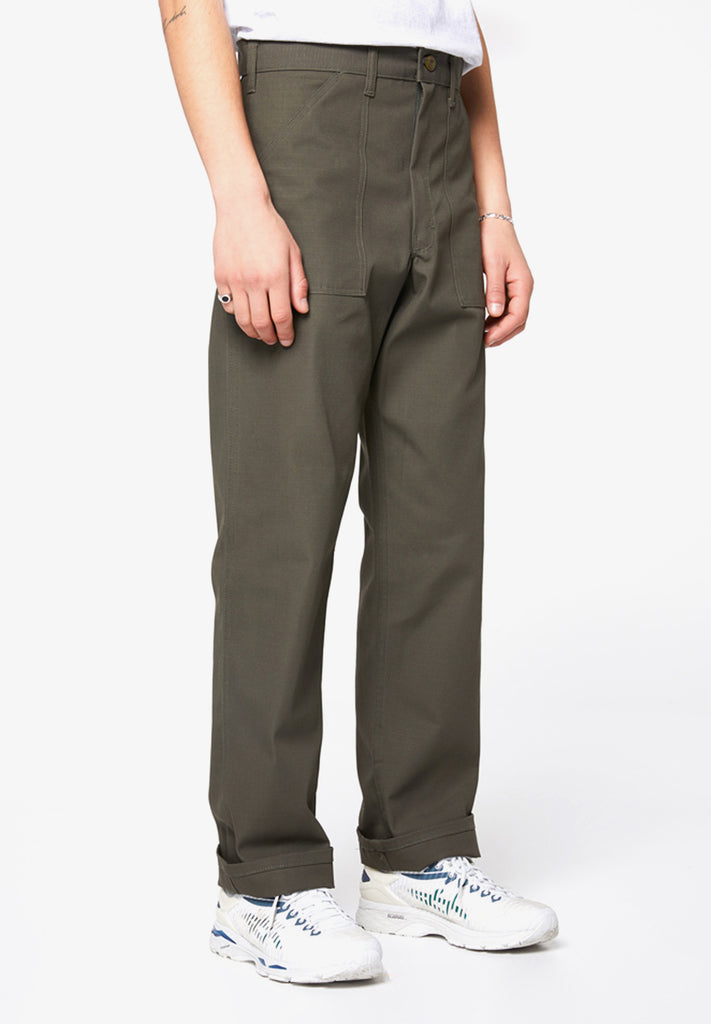 STAN RAY – FOUR POCKET FATIGUE PANT, OLIVE RIPSTOP