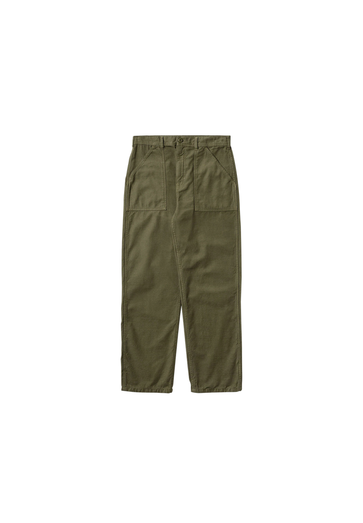 STAN RAY - FAT PANT, OLIVE SATEEN