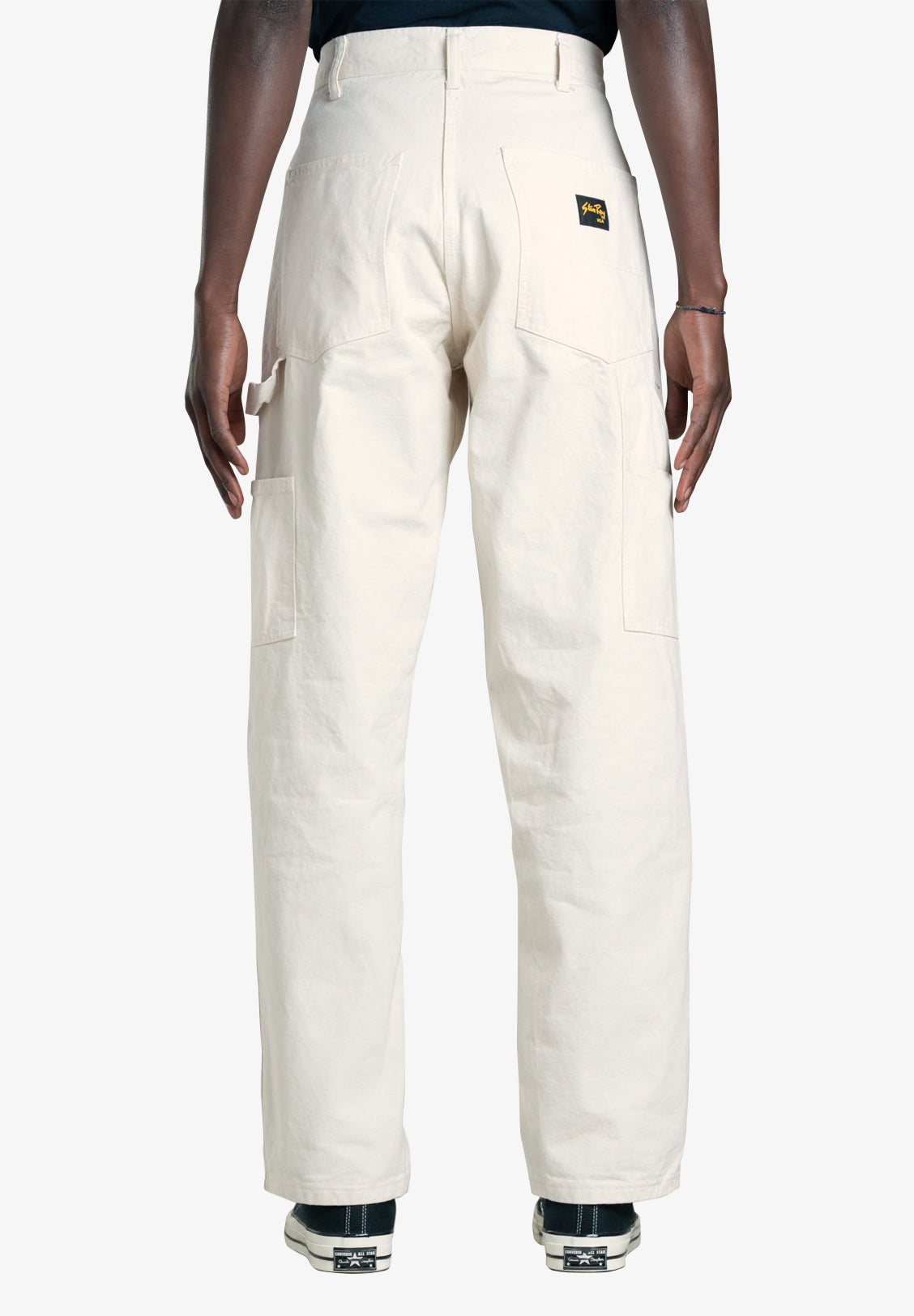 STAN RAY – OG PAINTER PANT, NATURAL DRILL
