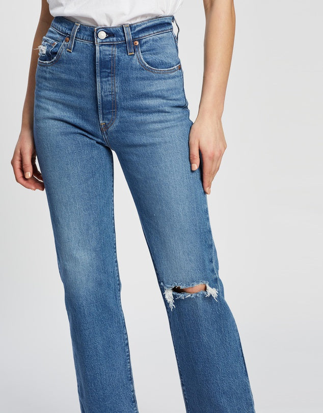 LEVI'S – WOMENS RIBCAGE STRAIGHT ANKLE, JIVE BEATS