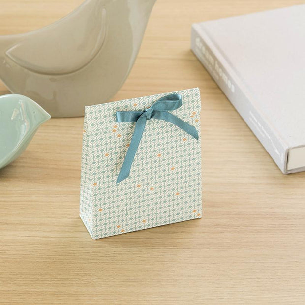 Sachet cadeau SAM de la collection Bleu losange