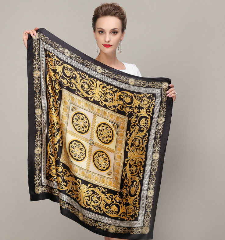 Silk Square Scarves Online