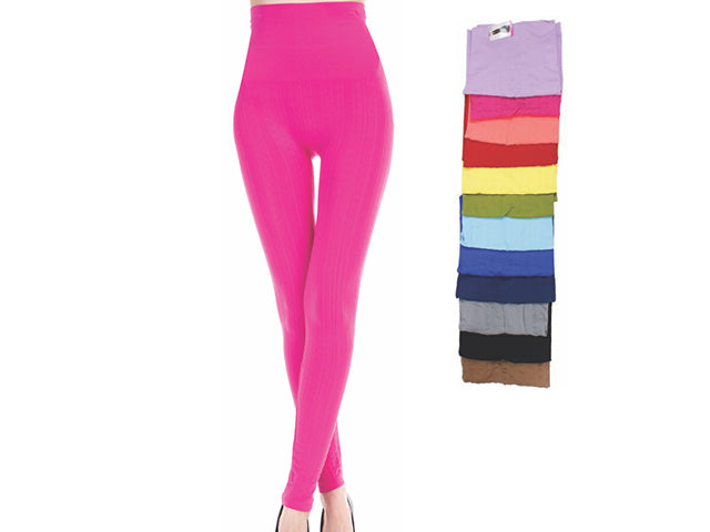 Wholesale Bulk Pack Women Seamless Textured High Waist Legging-GDP4248