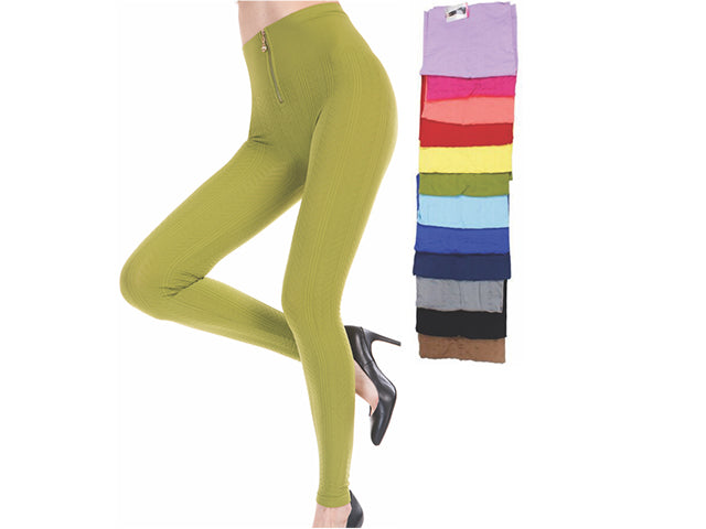 Wholesale Bulk Pack Women Seamless Textured High Waist Legging-GDP4244