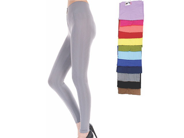 Wholesale Bulk Pack Women Seamless Textured High Waist Legging-GDP4242