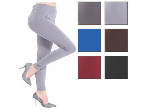 Wholesale Bulk Pack Fleece Lined Leggings-GDP4211