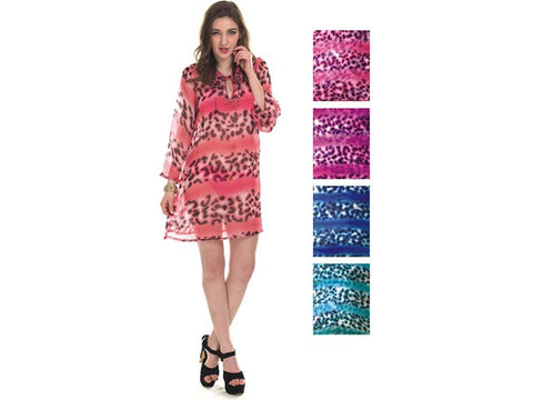 Wholesale Bulk Pack Chiffon Cover Up Assored Colors-GDP4647